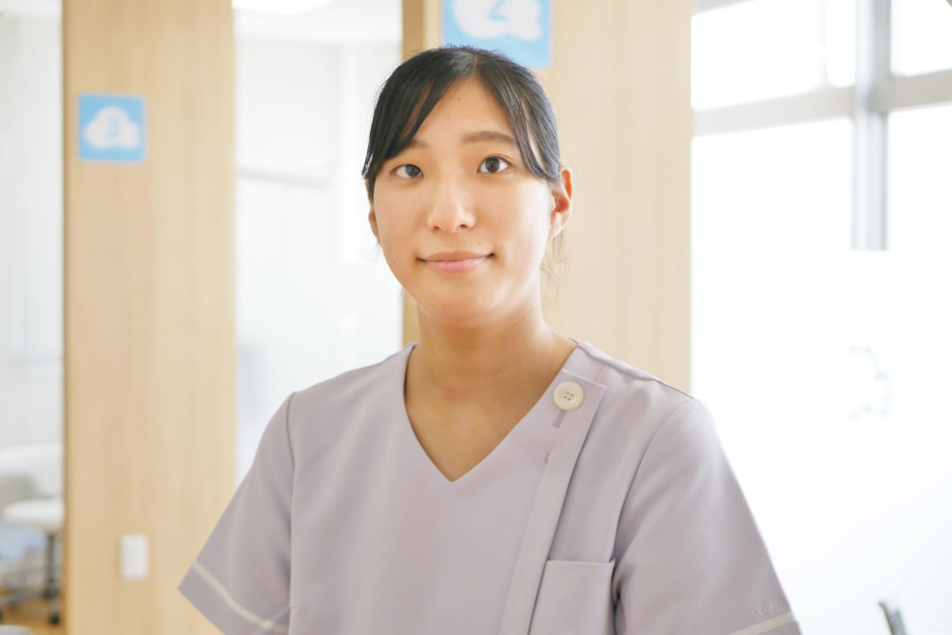 ひろ歯科クリニック 歯科衛生士<br />岡田 菜央<span>(おかだ なお)</span>